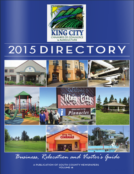 2015 King City Chamber Directory